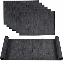 Famibay PVC Placemats and Table Runner Heat