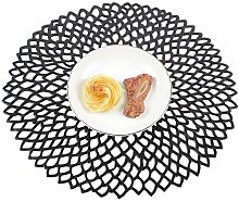 Famibay PVC Placemats Sets of 6 Round Place Mats