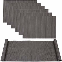 Famibay PVC Table Mats and Table Runner for