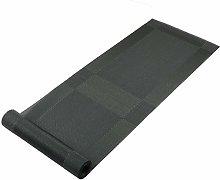 Famibay Table Runner Washable Black PVC Table