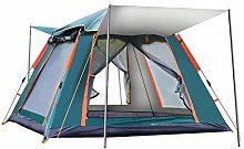 Family Camping Automatic Pop up Tent 4 Person