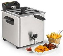Family Fry Deep Fryer 3000W Oil Drain Technology