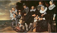 Family Group in a Landscape, C.1647-50 by Frans
