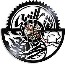 Family Reunion Barbecue Party Wall Clock
