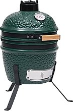 FAMIROSA 2-in-1 Kamado Barbecue Grill Smoker