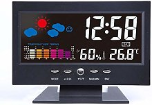 FAMKIT Weather Station, Large Color Display Clock