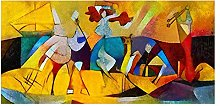 Famous By Picasso Artworks HD Canvas Oil Painting