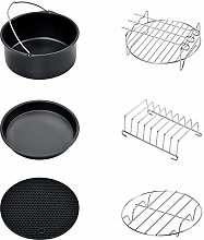Famyfamy 7 Inch Air Fryer Accessories 6Pcs Set