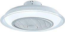 Fan Ceiling Fan LED Ceiling Lamp 80W Adjustable