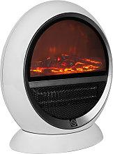 Fan Heater LED Electric Fireplace 2 Heating Levels