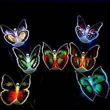 Fancy Butterfly LED Sticker, Glow Night Lights,