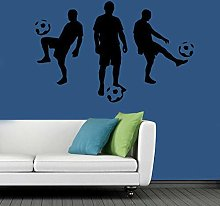 Fancy Football Team Wallpaper Vinyl Wall Decal