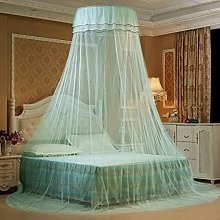 Fancylande canopy bed curtains for girls bed -