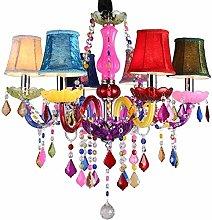 FANg Modern creative chandelier / 6 Light Dual