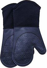 FANGCHENG Glove Silicone Oven Mitts with Quilted