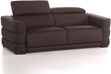 Faning Genuine Leather Sofa Wade Logan Upholstery
