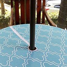Fanjow® Geometric Quatrefoil Print Zipper