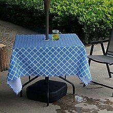 Fanjow® Kitchen Tablecloth Lattice Polyester