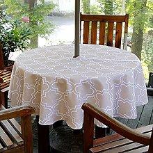 Fanjow® Outdoor Tablecloth Geometric Waterproof