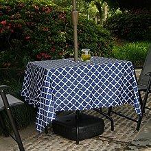 Fanjow® Outdoor Tablecloth Waterproof Spillproof