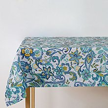 Fanjow® Polyester Rectangle Tablecloth Floral