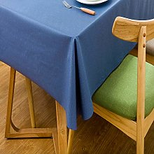 Fanjow® PVC Tablecloth Solid Color Table Top