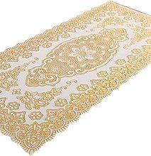 Fanjow reg; PVC Gilding Tablecloth Hollow Carved