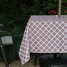 Fanjow® Square Polyester Fabric Tablecloth