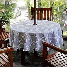 Fanjow® Umbrella Tablecloth with Zipper &