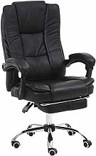 FANLIU Office Boss Chair Leather 165° Reclining