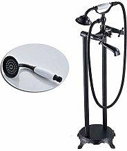 FANLLOOD Shower system Black Bronze Floor Stand