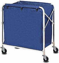 FANMENGY Serving Cart Trolley Hospital Trolley,