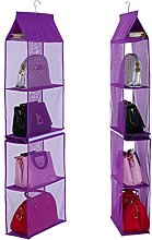 Fanova Detachable 4 Pocket Closet Hanging