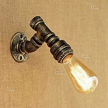 FANPING 1-Light Water Pipes Steampunk Wall Lamp