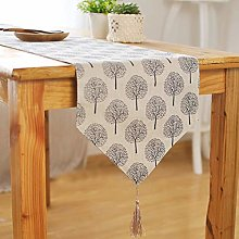 FANQIE Table runner Modern Tree pattern Chirstmas