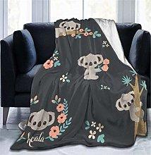 Fansu Fleece Throw Blanket, Kids Adults Microfiber