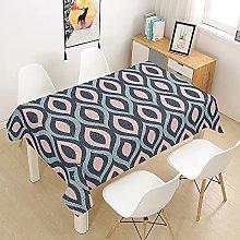 Fansu Rectangular Polyester Waterproof Tablecloth,