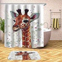 Fansu Shower Curtain Mould Proof Resistant