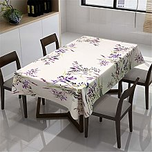 Fansu Tablecloth Rectangular Waterproof Bucolic
