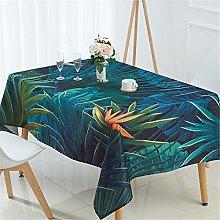 Fansu Tablecloth Waterproof, Cotton Linen