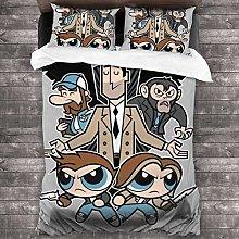 Fantastic Fairy Powerpuff Girls 3 Pieces Bedding
