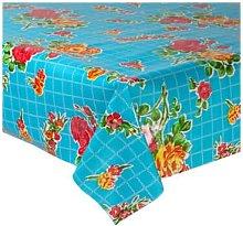 Fantastik - Celeste Blue Rosedal Oilcloth