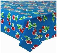 Fantastik - Dark Blue Cherry Oilcloth