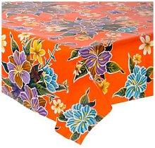 Fantastik - Hibisco Orange Oilcloth