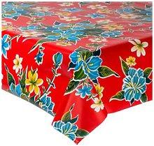 Fantastik - Hibiscus Red Oilcloth
