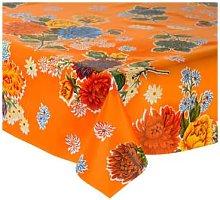 Fantastik - Orange Chrysanthemum Oilcloth
