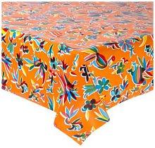Fantastik - Orange Oaxaca Oilcloth