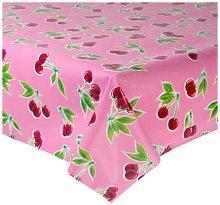 Fantastik - Pink Cherry Oilcloth