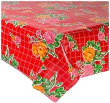 Fantastik - Red Rosedal Oilcloth