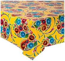 Fantastik - Sweet Yellow Flower Oilcloth